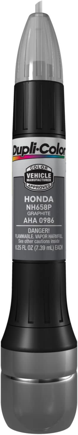 Dupli-Color AHA0986 Graphite Honda Exact-Match Scratch Fix All-in-1 Touch-Up Paint - 0.5 oz.