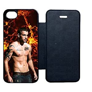 With The X Factor Shayne Ward For Iphone 5 5S Leather Cover Abstract Phone Case For Guys Choose Design 1
