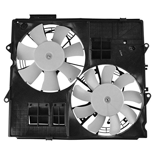 Radiator Dual Cooling Fan Assembly for Cadillac CTS-V 6.2L Supercharged