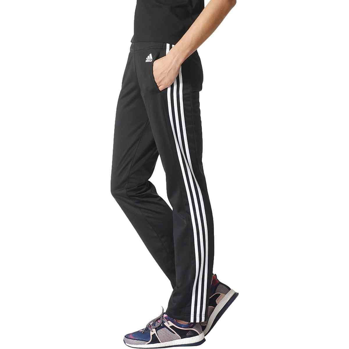 adidas Designed-2-Move Straight Pant - Women's XS/A Black/White