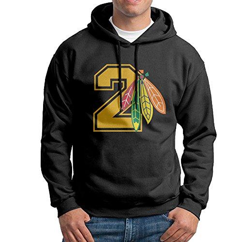 AUGU Men Hockey Dunc2 Hooded Sweatshirt Black