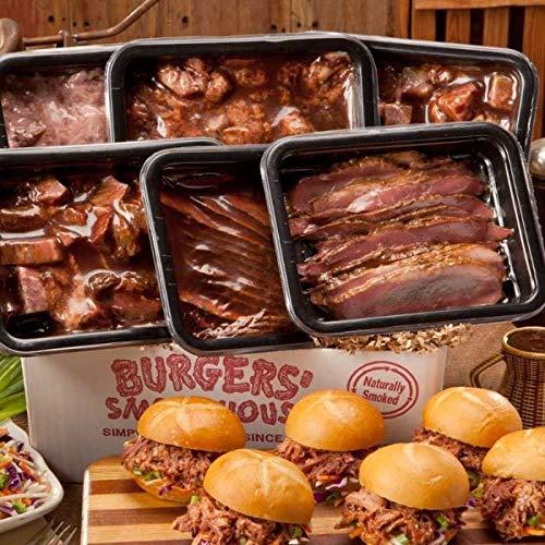Burgers' Smokehouse Ultimate BBQ Sampler (Best Burnt Ends In Kansas City)