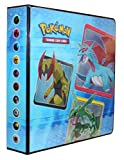 Pokemon 3-Ringed Binder Album for 9 Pocket Pages Generation 6 Rayquaza on cover