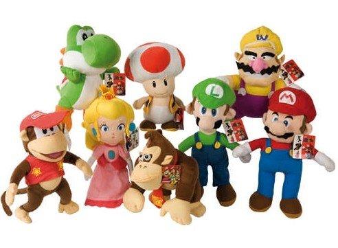Nintendo Super Mario Bros Plüsch Plüschfigur Plüschtier 23 cm*NEU*