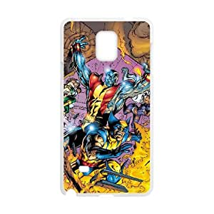 Samsung Galaxy Note 4 Cell Phone Case White Wolverine Rbms