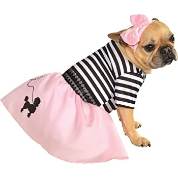 Rubie's Pet Costume, Small, 50s Girl Dress