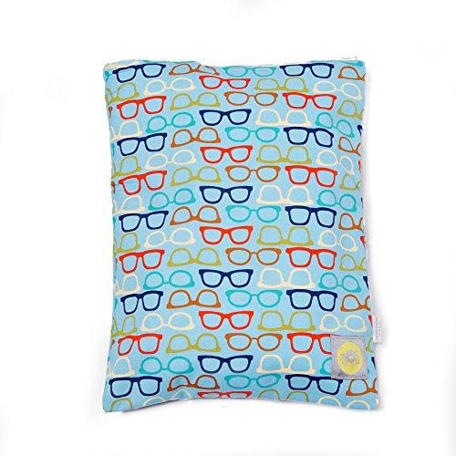 UPC 814652014762, Itzy Ritzy Travel Happens Sealed Wet Bag Medium (Hipster Sunglasses)