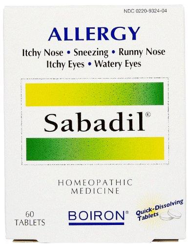 Boiron - Sabadil, 60 tablets