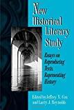 img - for New Historical Literary Study book / textbook / text book
