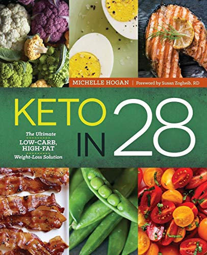 Keto in 28: The Ultimate Low-Carb, High-Fat Weight-Loss Solution by Michelle Hogan
