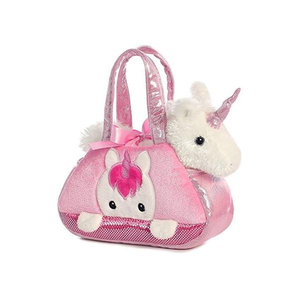 Aurora World Fancy Pals Pet Carrier, Peek-A-Boo Unicorn