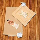 Custom Holiday Christmas Kitchen Towel and Potholder Gift Set (Texas)