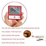 capetsma Fish Tank Thermometer, Touch Screen