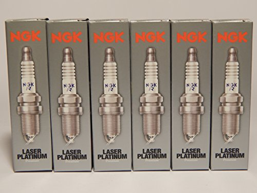 6pc - NGK Laser Platinum Spark Plugs Stock 4288 Nickel Core Tip Standard 0.032in PLKR7A (Best Spark Plugs For Mercedes C230)
