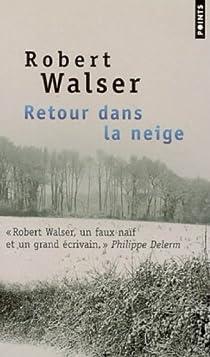 Retour dans la neige par Walser