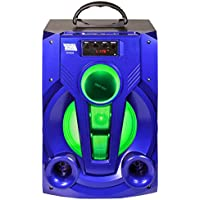 Fully Powered 600 Watts Portable Multimedia Speaker Edge20 - Blue