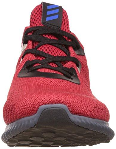 adidas alphabounce j - Zapatillas deportivaspara niños Rosso (Escarl/Azul/Negbas)