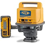 Spectra Precision Laser LL500 Exterior Self-Leveling Laser Level With HL700 Receiver