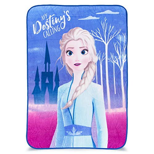 "Franco Kids Bedding Super Soft Plush Throw, 46"" x 60"", Disney Frozen 2"