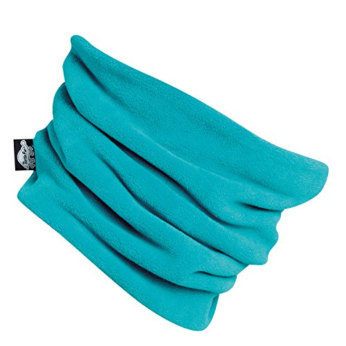 Turtle Fur Kids Chelonia 150 Classic Fleece Neck Warmer Turq-E (Turtle Neck Warmer Fur)