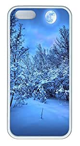 2014 New Year's Eve Custom Case Cover Compatible with Apple iPhone 5S/5 - TPU - White