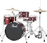 Pearl RS584CC91 Roadshow 4-Piece Drum Set, Wine Red