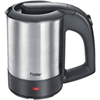 Prestige PKTSS 0.5 Liter 1000W Electric Kettle (Can't be Used to Boil Milk) (Silver)