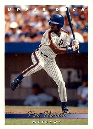 Amazoncom 1993 Upper Deck Baseball Card 161 Pat Howell