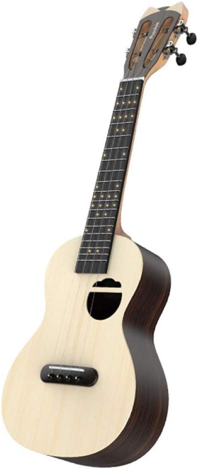NING-MENG Ukulele Guitarra Eléctrica Acústica Smart Soprano 23 ...