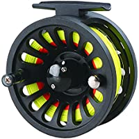 LUREMASTER Pre-loaded 5/6 WT Fly Fishing Reel with Weight...