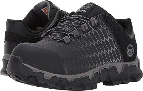 Timberland PRO Women's Powertrain Sport Raptek Alloy Toe EH Industrial and Construction Shoe, Black Raptek, 9 M US