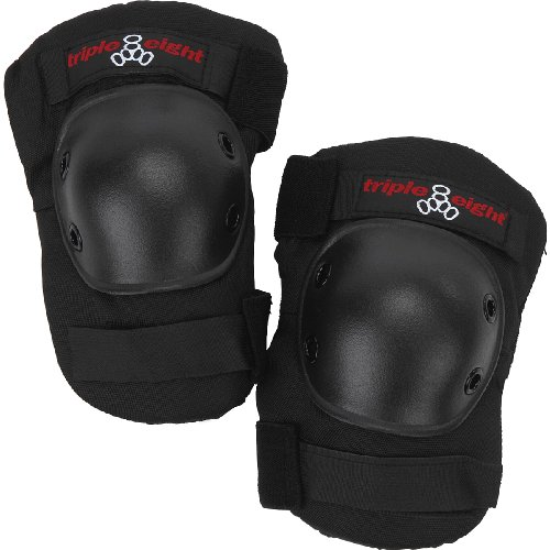 Triple 8 Saver Series Kneesaver  (Black, One Size Fits All)