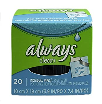 ALWAYS Feminine Wipes Unscented 20 Count by Always