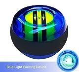 ZKLKLO AutoStart Spinner Gyroscopic Wrist and Forearm Exerciser Ball for Sport,Blue