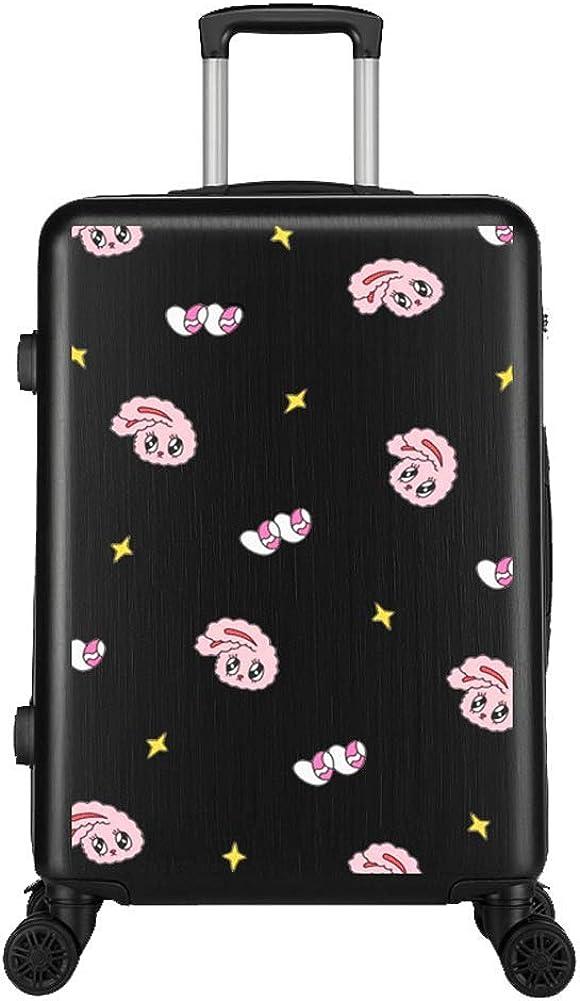 YUNY Equipaje para niños, maleta maleta rígida maleta ligera ABS carro de viaje de 4 ruedas 20 28 ruedas,La maleta