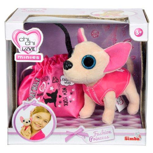 Simba 105890645 - Chi Chi Love Minies Fashion Princess, Plüschtier