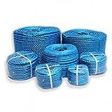 POLYPROPYLENE ROPE 6MM X 50 METERS BLUE Polyrope, Polypropylene, Polyprop