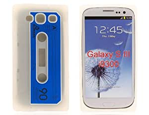 Silicone Tape Protective Case for Samsung Galaxy S III i9300 (White) + Worldwide free shiping