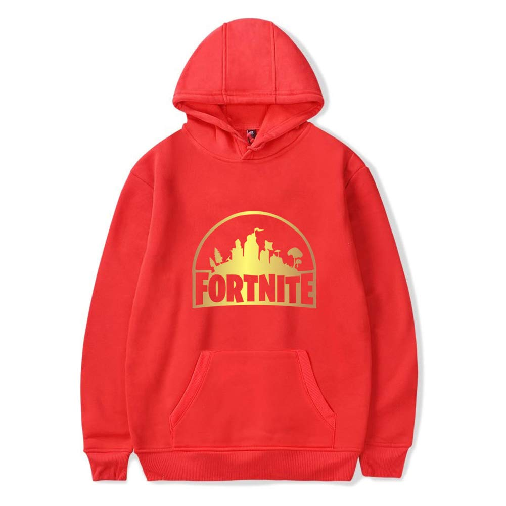 Merdbu Girls Boys Fortnite Hoodie Crewneck Hooded Sweatshirts Kids