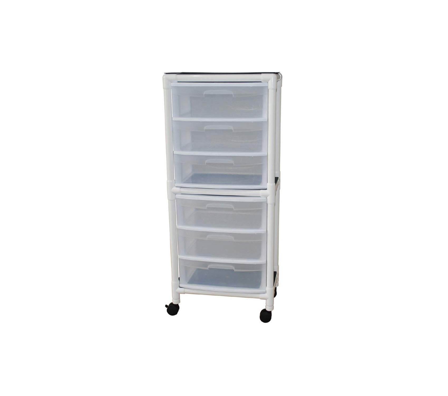 Home Décor Premium Universal Cart 6 Drawer 145 fl oz 65.75'' Height x 26'' Length x 15.75'' Width Storage Durable Strong Decorative
