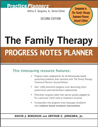 The Couples Psychotherapy Progress Notes Planner (2nd Edition)