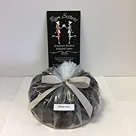 Rum Sisters Gourmet Alcohol Infused Cake – Twisted Sista' (Dark Chocolate) – Small