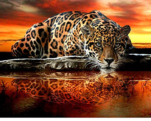 Jigsaw Puzzle 1000 Piece Tattoo Tiger DIY Modern Wall Art Unique Gift Home -