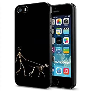 Funny X-ray Man and Dog Apple Smartphone iphone 6 4.7 Case Cover Collector Black Hard Cases