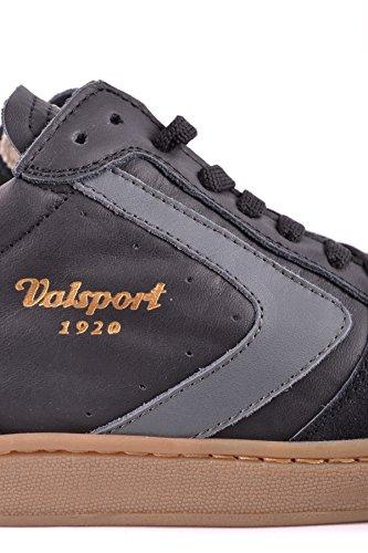 Mcbi464001o Sneakers In Camoscio Nero Da Uomo Valsport
