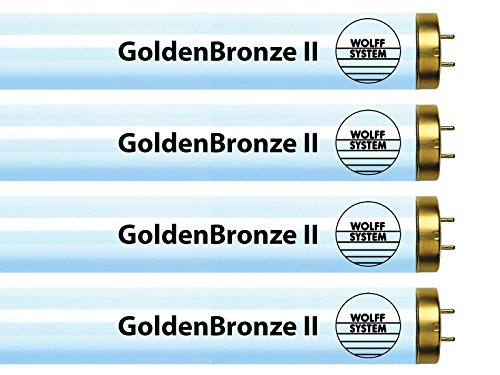 Wolff System GoldenBronze II F71T12 100W Bipin Tanning Bulbs - Intense Bronze (6) by GoldenBronze
