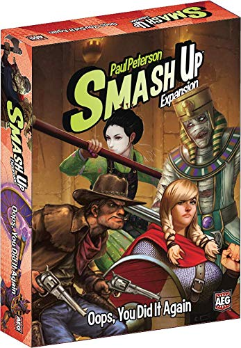 Alderac Entertainment ALD05514 Smash Up Oops You did it Again Multicolore Pegasus Spiele AEG5514