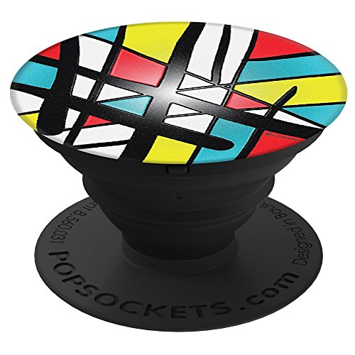 i-Create Abstract Art PopSockets Stand for Smartphones and Tablets Abstract Pop Art