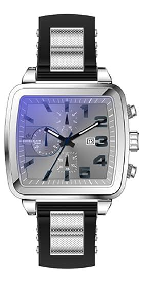 Reloj Daniel Klein Gris en Acero Reloj para caballero Daniel Klein con esfera rectangular gris en