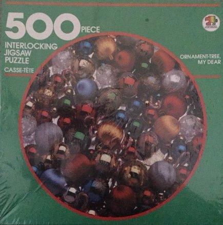 Ornament-tree, My Dear 500 Piece Interlocking Jigsaw Puzzle